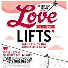 Love on the Lifts in Keystone Colorado February 14, 2013