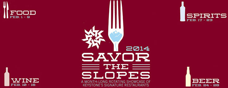 Savor the Slopes Event in Keystone Colorado February 2014