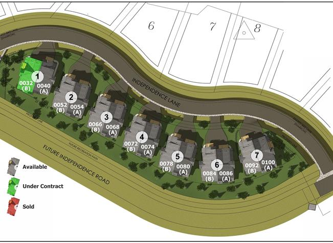 Keystone's Townhomes at The Alders - Brand New Construction