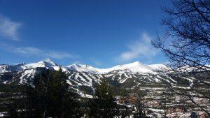 The Breckenridge Ski Resort and Town of Breckenridge.