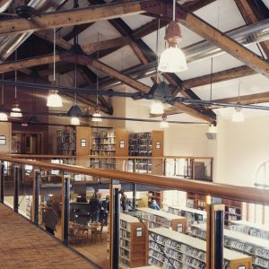 Inside the Breckenridge Library