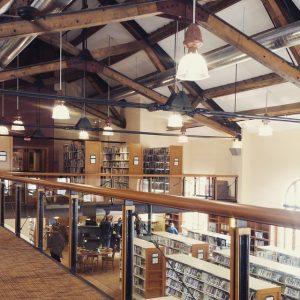 Inside the Breckenridge Library