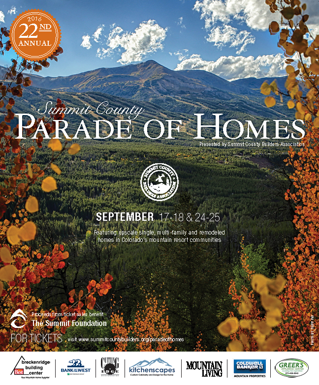 Summit County Parade of Homes 2016