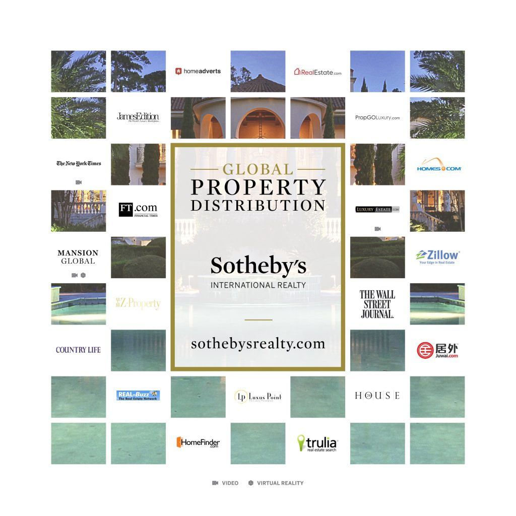 Sothebys International Realty Property Marketing Exposure